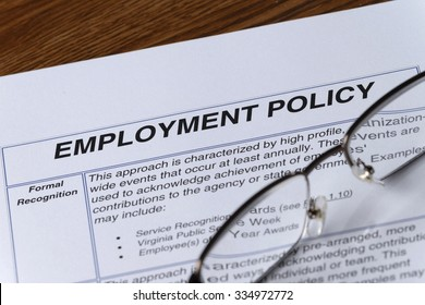 reding an employment policy