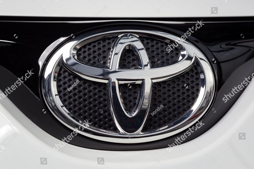 Vinnitsa Ukraine January 10 2018 Toyota Rav4 Concept Car Logo
