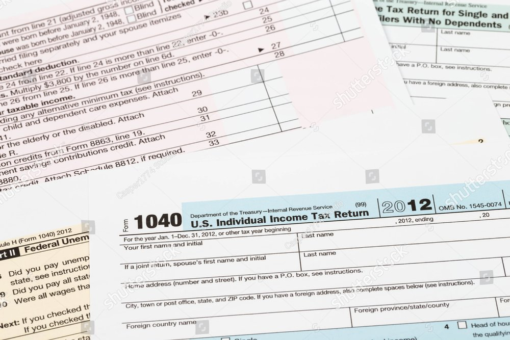 Us Individual Income Tax Return Form 1040 Ez Canvas