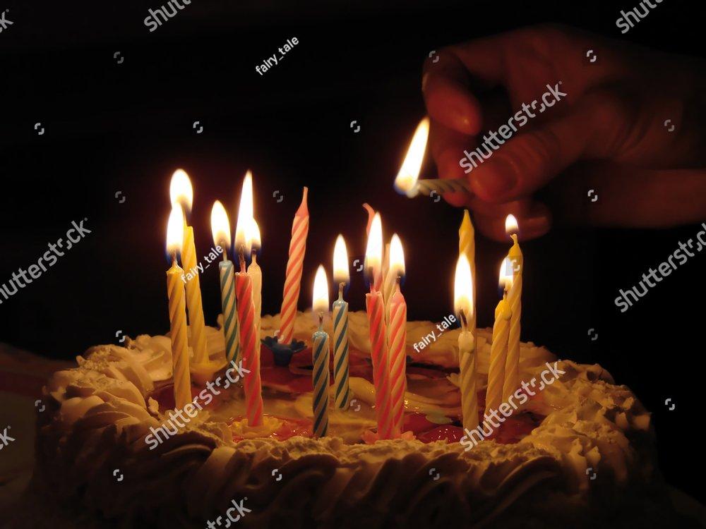 Birthday Cake Ez Canvas