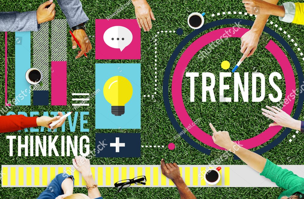 Trends Fashion Marketing Contemporary Trending Concept