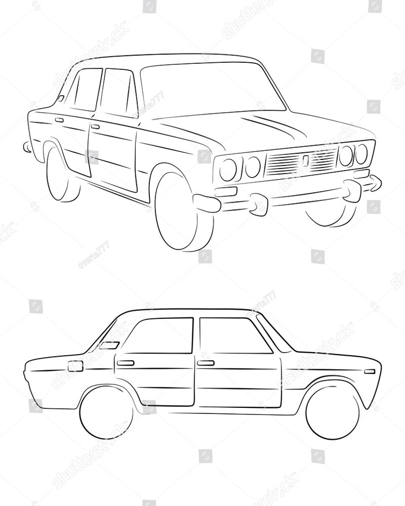 two isolated retro cars in silhouette line style with s le text 1970s Opel Sedan two isolated retro cars in silhouette line style with s le text four door sedan and wagon typical vintage vehicle car vector stock image ez canvas