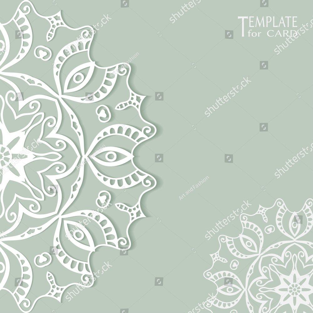 Black flower corner, lace ornament | EZ Canvas
