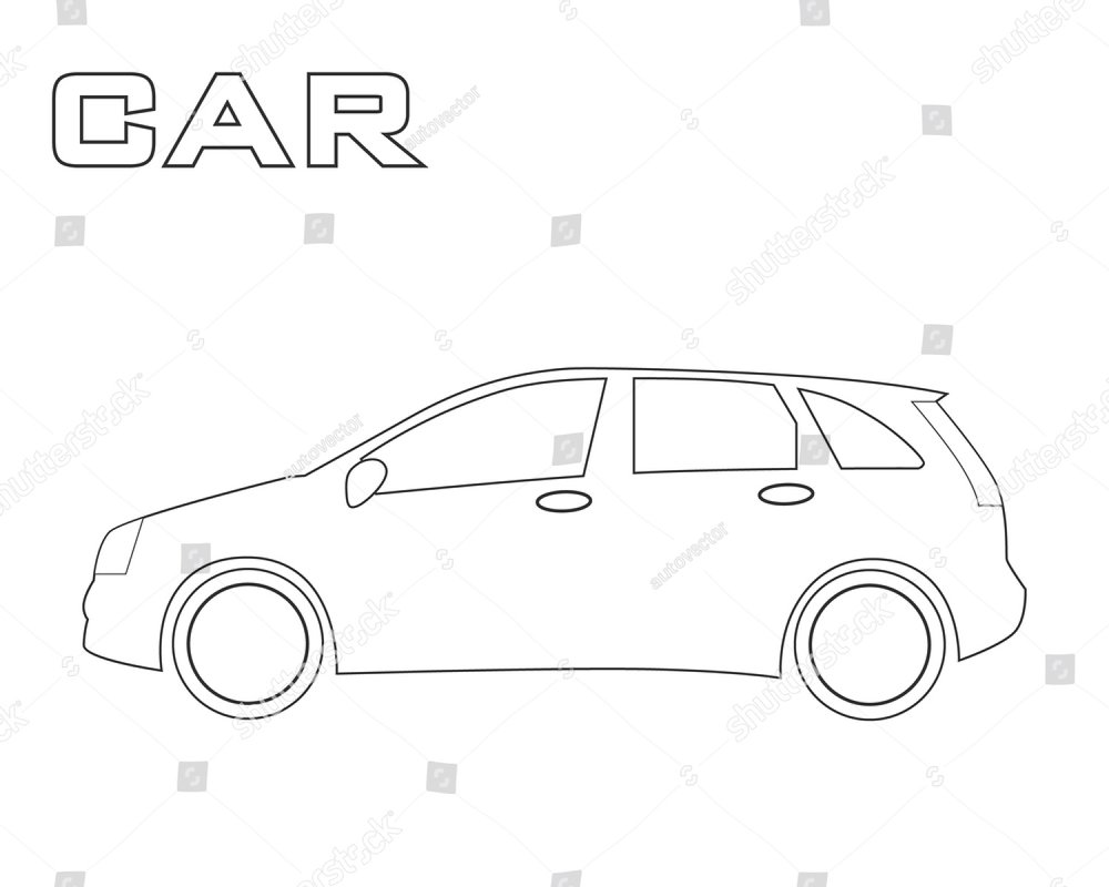 car side view black and white vector sketch simple drawing isolated Fiat 1500 Spyder car side view black and white vector sketch simple drawing isolated at white background ez canvas