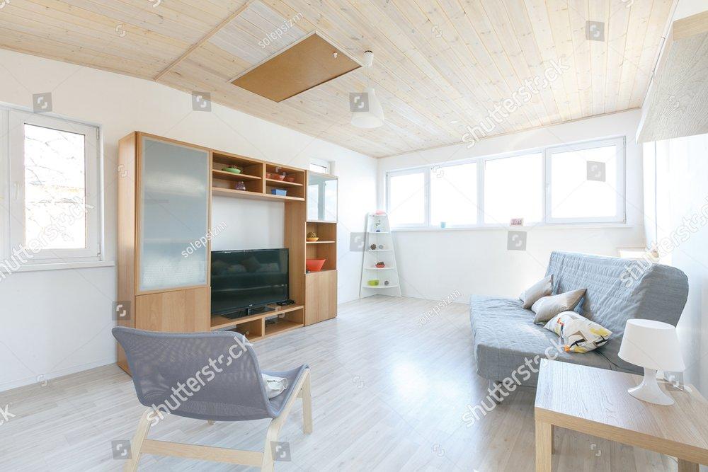 Interiors of a living room | EZ Canvas