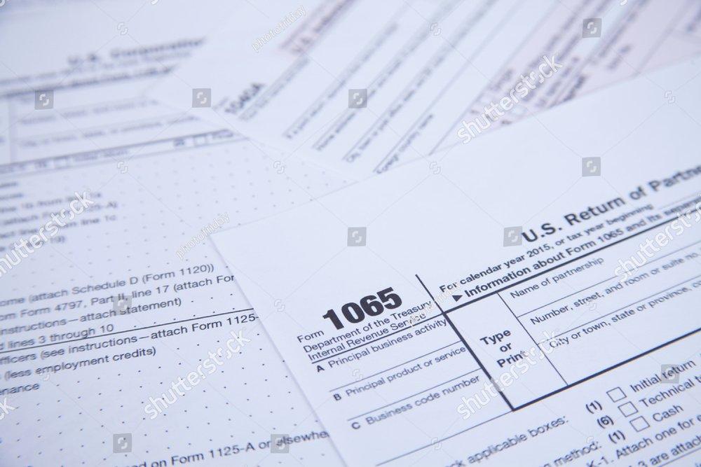 Us Tax Form Background Ez Canvas