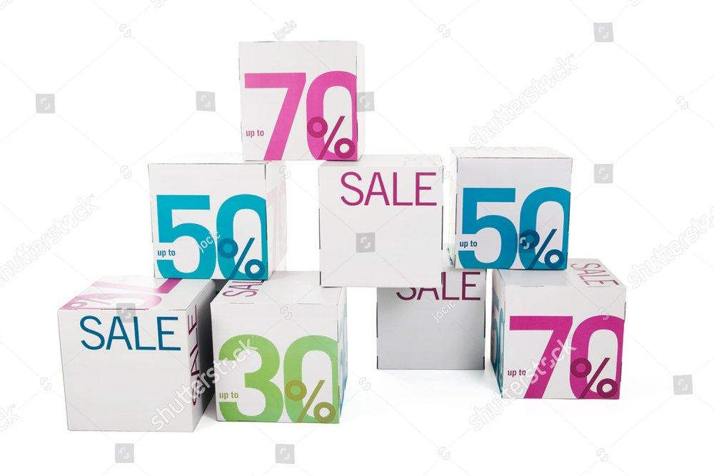 Symbol of sale