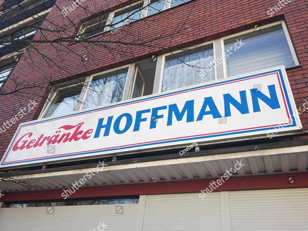 Berlin, Germany - March 26, 2017: Getranke Hoffmann shop. Founded in ...