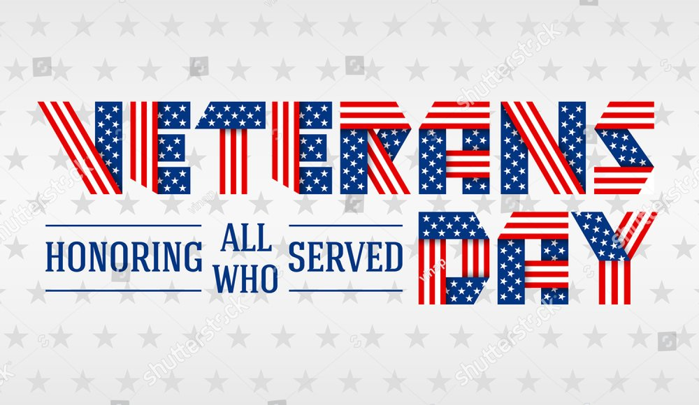 2d058107ee1 US Memorial Day greeting card. Text made of interlaced ribbons with USA  flag s stars and stripes. Illustration for national holidays.