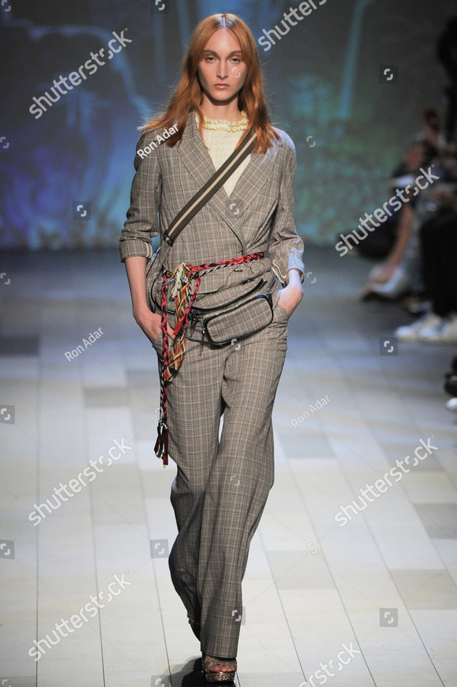 new york ny september 10 a model walks the runway at the