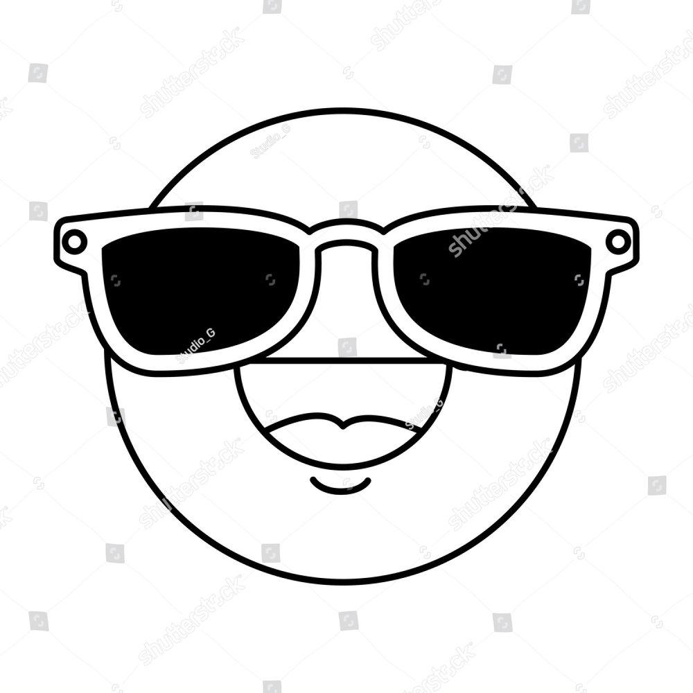 b1cc21be1666 glasses vector illustration