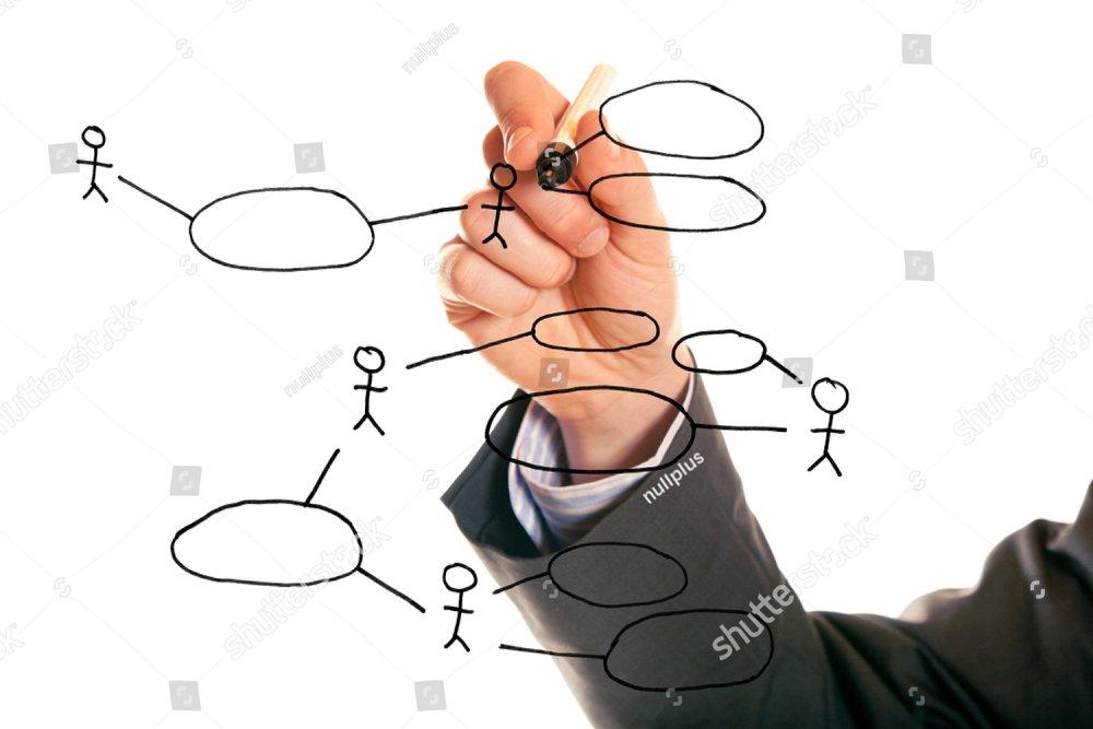Businessman Drawing A Uml Use Case Diagram