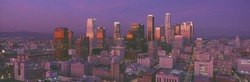 Los Angeles, Skyline, Sunset, California