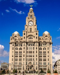 Liverpool Liver Building - One of the three graces of Liverpool.