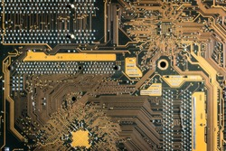 Electronic circuit board,Motherboard digital chip.