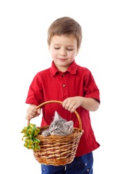 Kids with cats and other pets