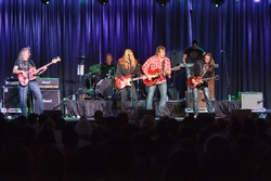 LINCOLN, CA - OCT 19: Country rock band The Outlaws perform at Thunder Valley Casino Resort in Lincoln, California on October 19th, 2012