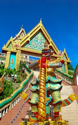Giant statue at Kao Rang temple, Phuket, Thailand