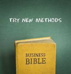 Business Bible commandment - Try new methods