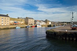 Burghead -  a small coastal town on the Morayshire coast, Scotland.