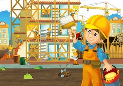 Construction site - worker