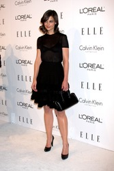 Katie Holmes arriving at the 16th Annual Women in Hollywood Tribute Sponsored by ELLE Beverly Hilton Hotel Los Angeles,  CA October 19, 2009