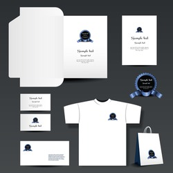 Stationary Template, Business Set, Corporate Identity
