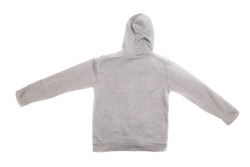 Hooded sweater isolated on a white background