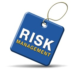 risk management and insurance policy safety first sign or icon