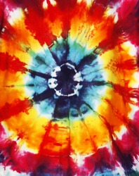 abstract tie dye design