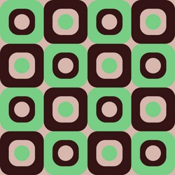 Retro Seamless Background Pattern