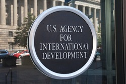 WASHINGTON, DC - MAY 4: U.S. Agency for International Development Headquarters in Washington, DC on May 4, 2015.