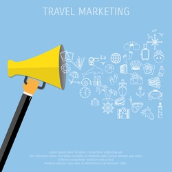 concept of marketing in travel and I am a forbes contributor, cmo so with that many people using social media why wouldn't the travel marketing industry be impacted by its use.