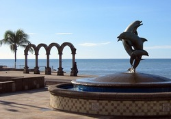 Statues in Puerto Vallarta, Mexico