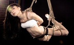 Beautiful women tied up