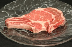 beef rib steak bone in