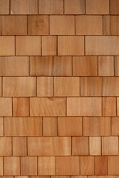 Wooden Shingles Background Texture