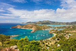 Antigua and Barbuda. Tropical islands in Caribbean, exotic vacation