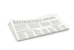 Generic design of a newspaper called morning news