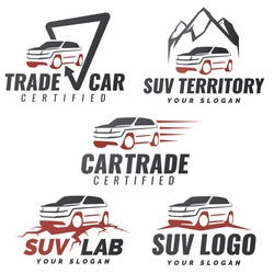 Similar Images Stock Photos Vectors Of Set Crossover Suv Car