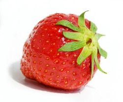 Strawberry,isolated on white