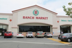 Artesia, California, USA - May 9, 2016: 99 Ranch Market is an Asian American supermarket chain with over 30 stores primarily in California.