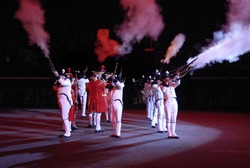 Edinburgh military tattoo August 2007 at Edinburgh Castle - the most spectacular show on EarthEdinburgh military tattoo August 2007 at Edinburgh Castle - the most spectacular show on Earth
