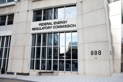 WASHINGTON, DC - NOVEMBER 12: Federal Energy Regulatory Commission (FERC) in Washington, DC on November 12, 2015. FERC regulates the interstate transmission of natural gas, oil, and electricity.