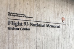 SHANKSVILLE, PA - AUGUST 17: Flight 93 National Memorial Visitor Center located near Shanksville, PA on August 17, 2016.