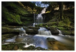 Scalebar Waterfall in the Yorkshire Dales