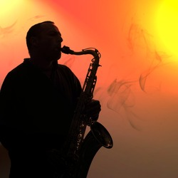 Tenor saxophone player