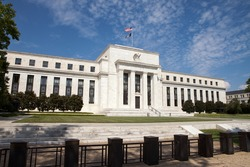 WASHINGTON, DC - SEPTEMBER 10: Federal Reserve Headquarters in Washington, DC on September 10, 2016. The Fed provides the nation with a safe, flexible, and stable monetary and financial system.