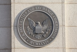 WASHINGTON, DC - SEPTEMBER 10: Securities and Exchange Commission in Washington, DC on September 10, 2016.