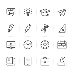 Theme Line 7 Icon set